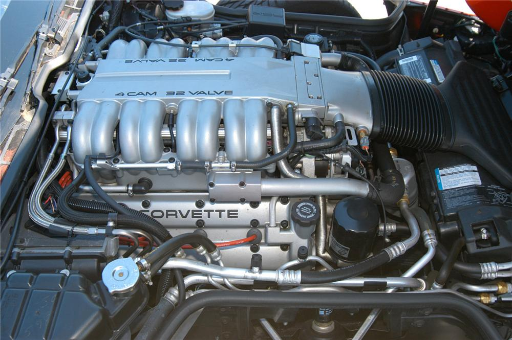 1995 CHEVROLET CORVETTE ZR-1 COUPE - Engine - 71559