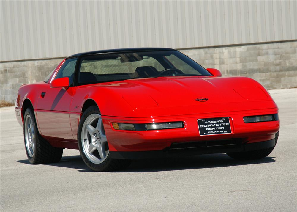 1995 CHEVROLET CORVETTE ZR-1 COUPE - Front 3/4 - 71559