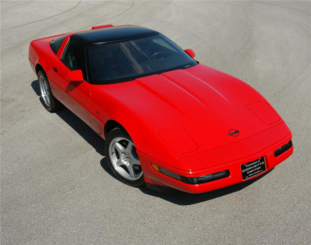 1995 CHEVROLET CORVETTE ZR-1 COUPE - Side Profile - 71559