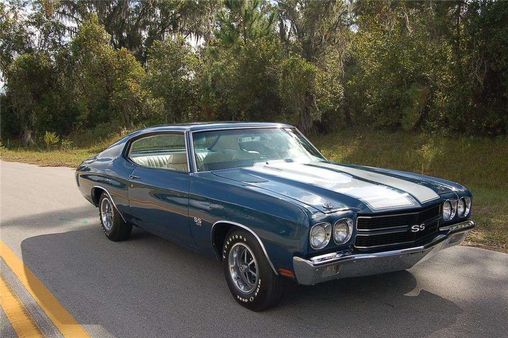 1970 CHEVROLET CHEVELLE LS5 COUPE - Front 3/4 - 71560
