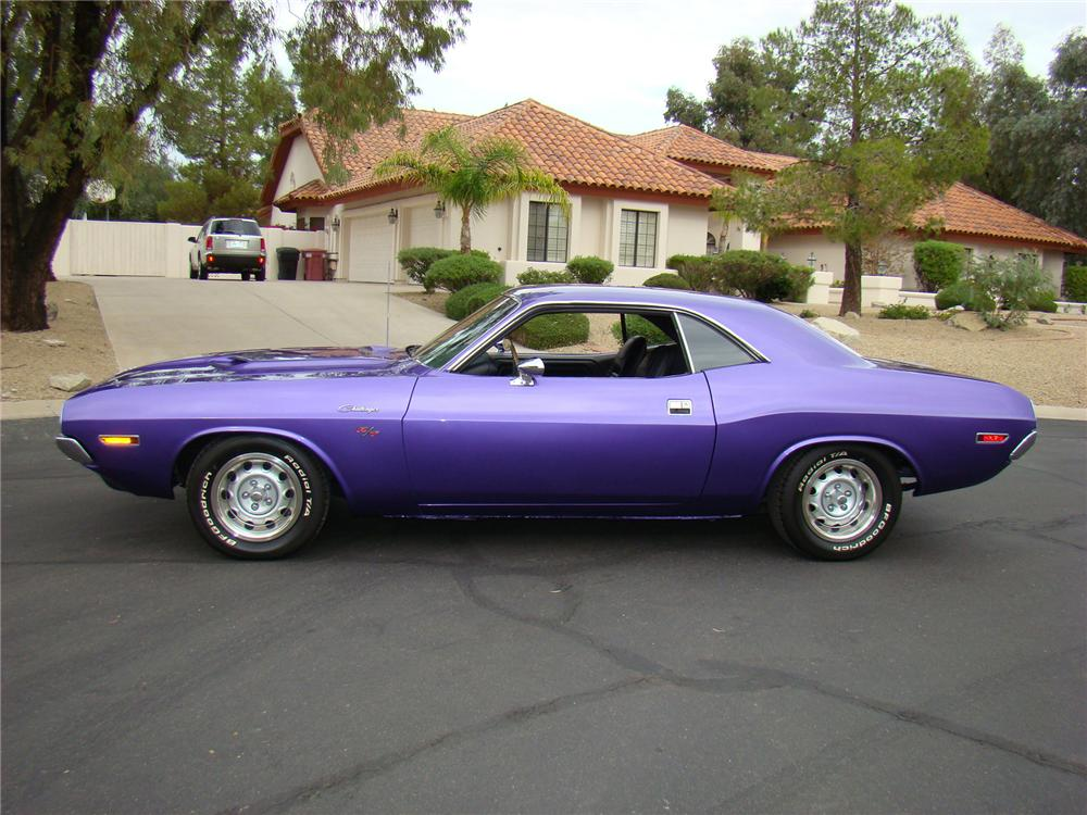 1970 DODGE CHALLENGER COUPE - Side Profile - 71571