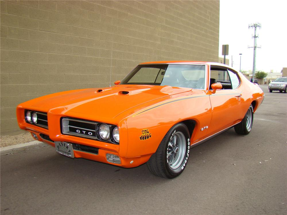 1969 PONTIAC GTO JUDGE COUPE - Front 3/4 - 71574