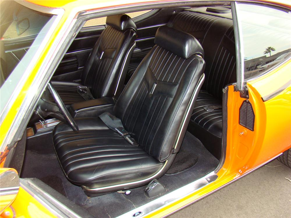 1969 PONTIAC GTO JUDGE COUPE - Interior - 71574