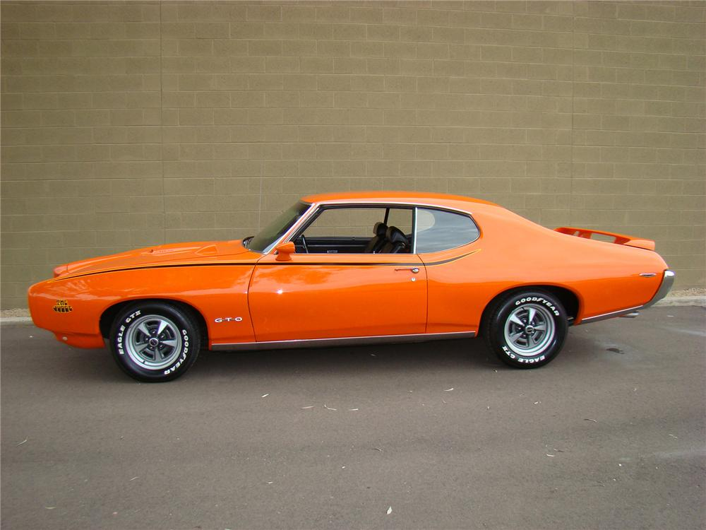 1969 PONTIAC GTO JUDGE COUPE - Side Profile - 71574