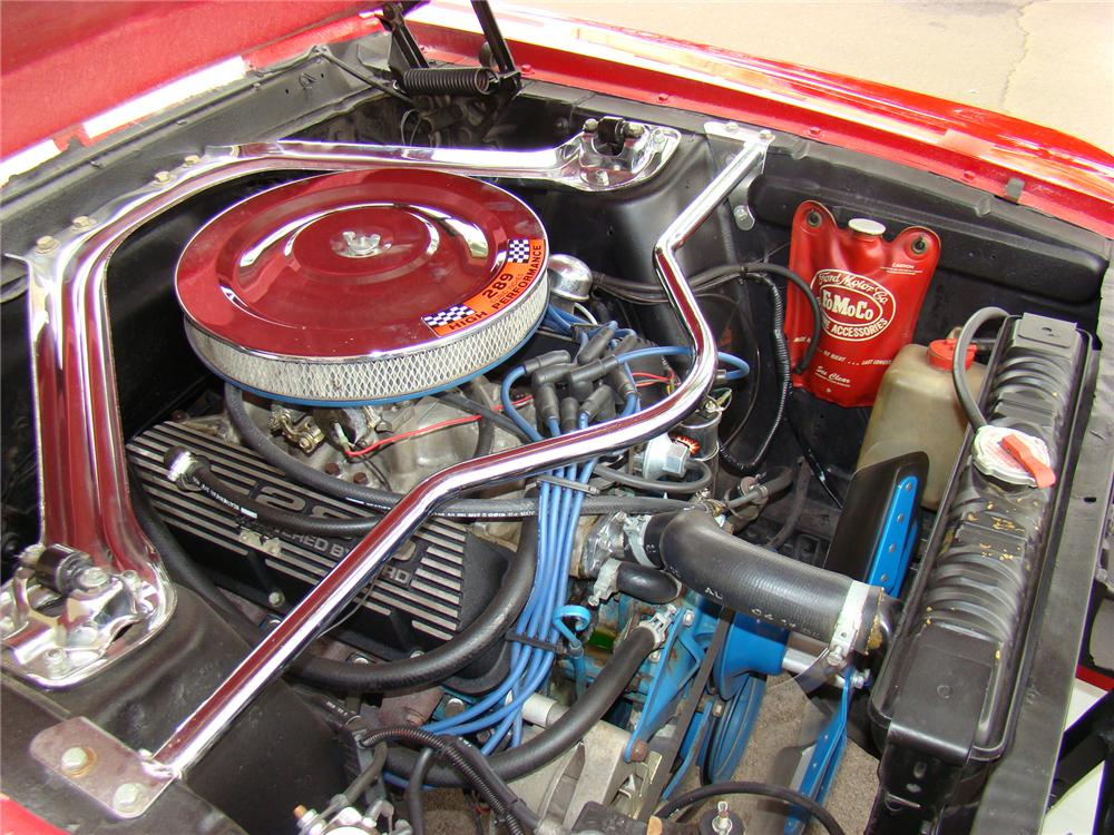 1967 FORD MUSTANG CUSTOM FASTBACK - Engine - 71575
