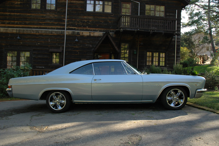 1966 CHEVROLET IMPALA 2 DOOR HARDTOP - Side Profile - 71577