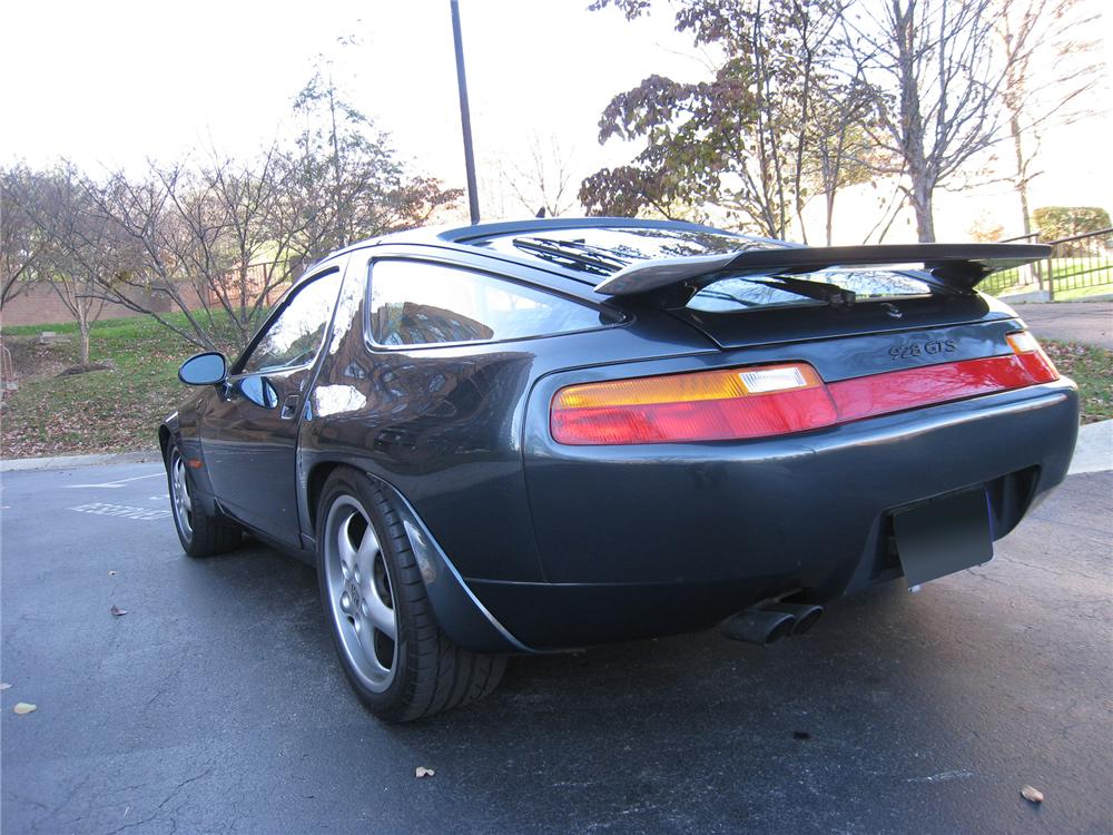 1994 PORSCHE 928 GTS 2 DOOR COUPE - Rear 3/4 - 71578
