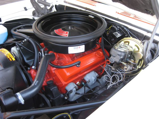 1969 CHEVROLET CAMARO INDY PACE CAR RS/SS CONVERTIBLE - Engine - 71615