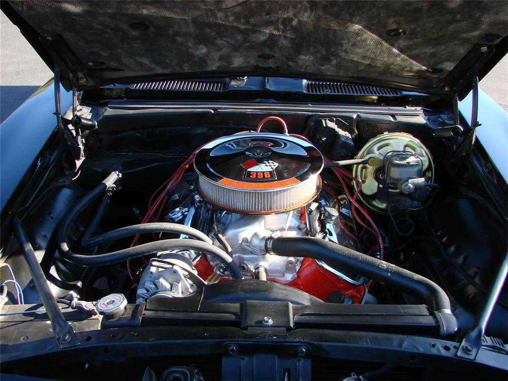 1969 CHEVROLET CAMARO SS COUPE - Engine - 71639