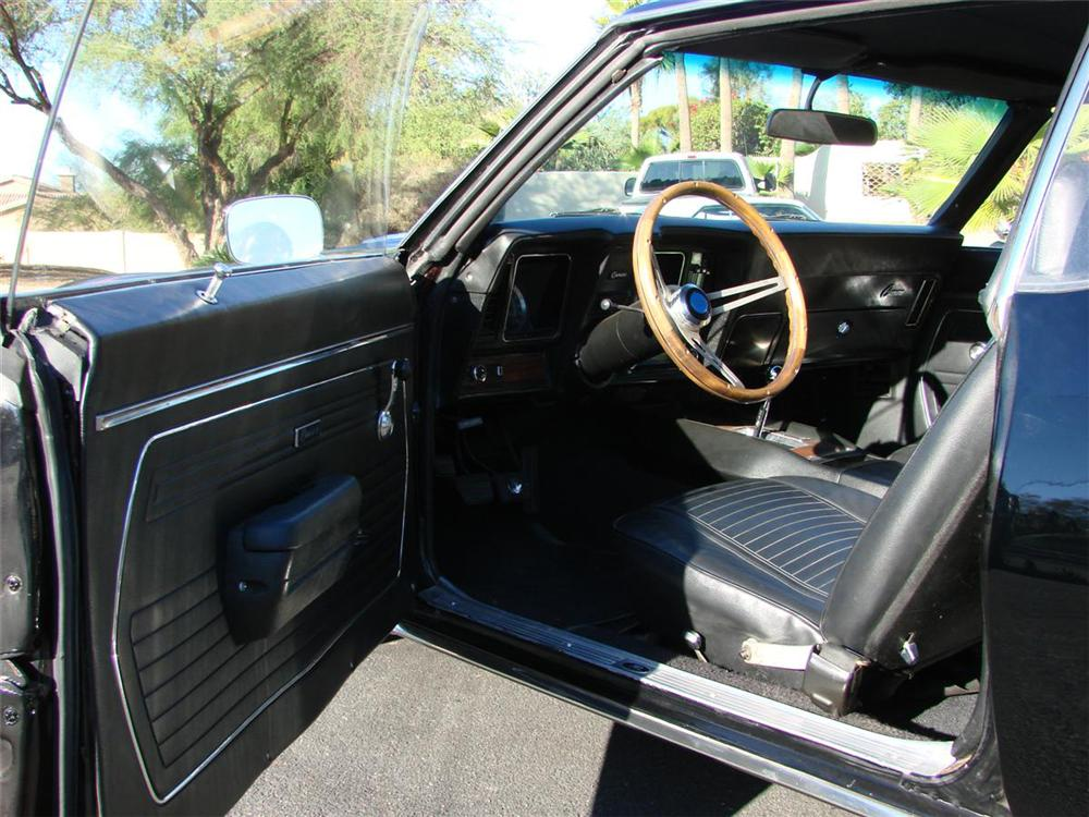 1969 CHEVROLET CAMARO SS COUPE - Interior - 71639