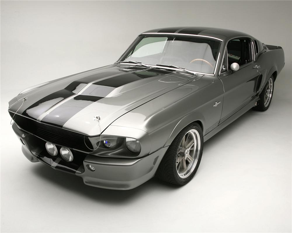 "1967 FORD MUSTANG ""ELEANOR - GONE IN 60 SECONDS"" - Front 3/4 - 71644"