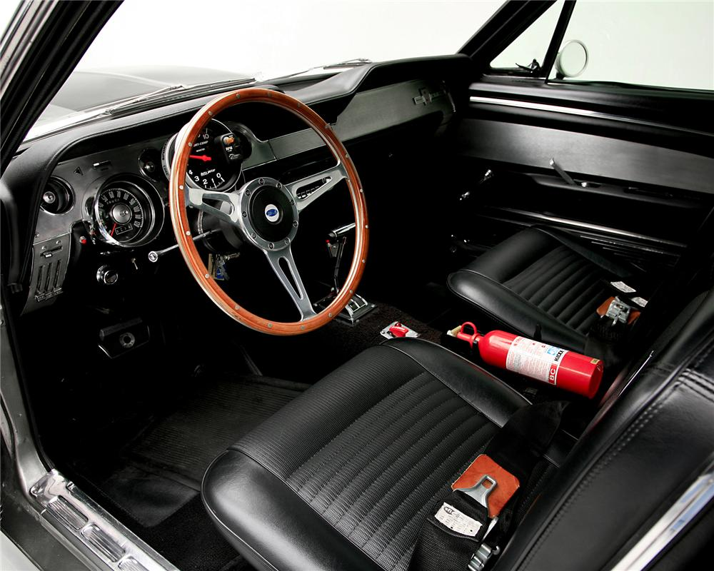 1967 ford mustang 39 eleanor gone in 60 seconds 39 71644 - Interior ford mustang ...