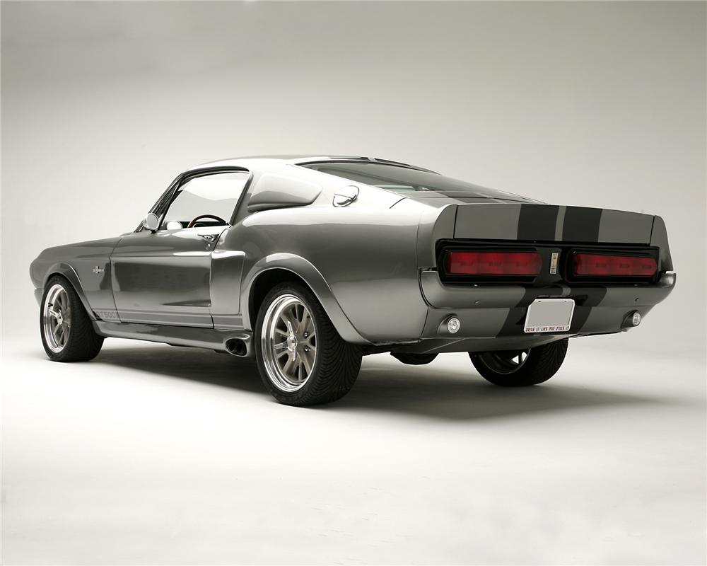 "1967 FORD MUSTANG ""ELEANOR - GONE IN 60 SECONDS"" - Rear 3/4 - 71644"