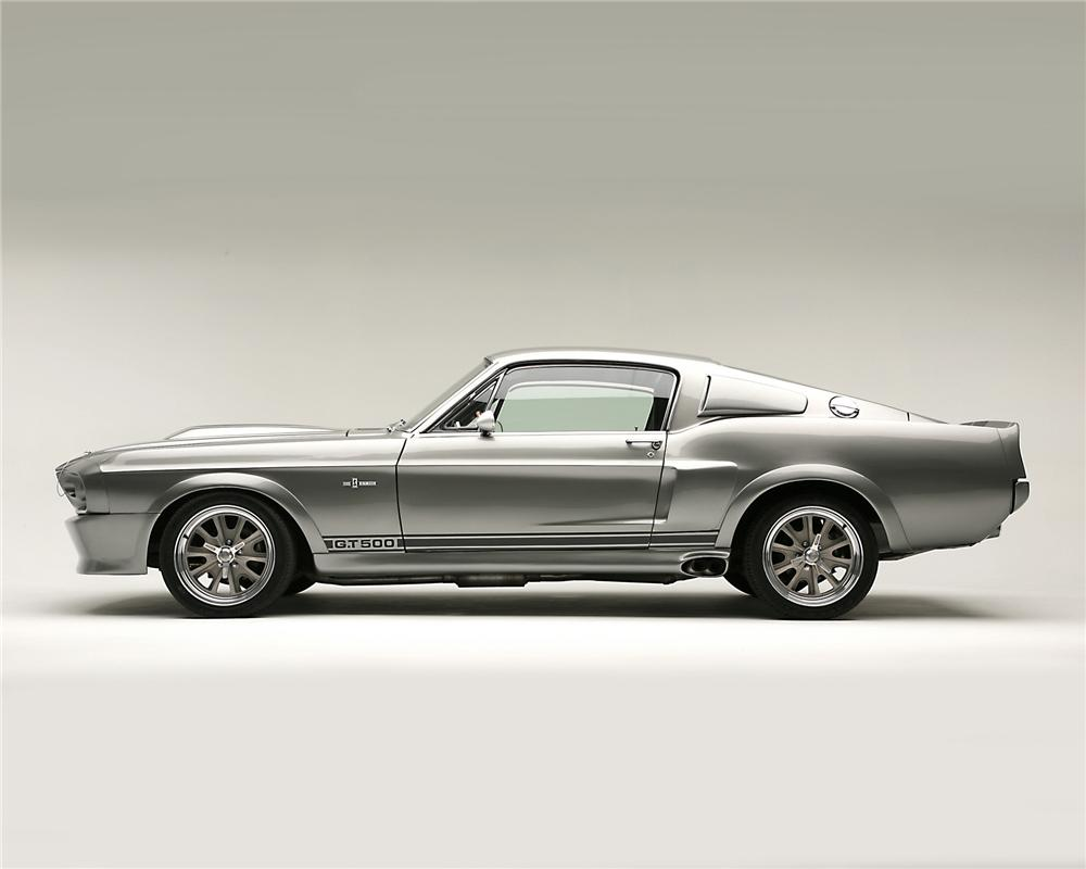 "1967 FORD MUSTANG ""ELEANOR - GONE IN 60 SECONDS"" - Side Profile - 71644"