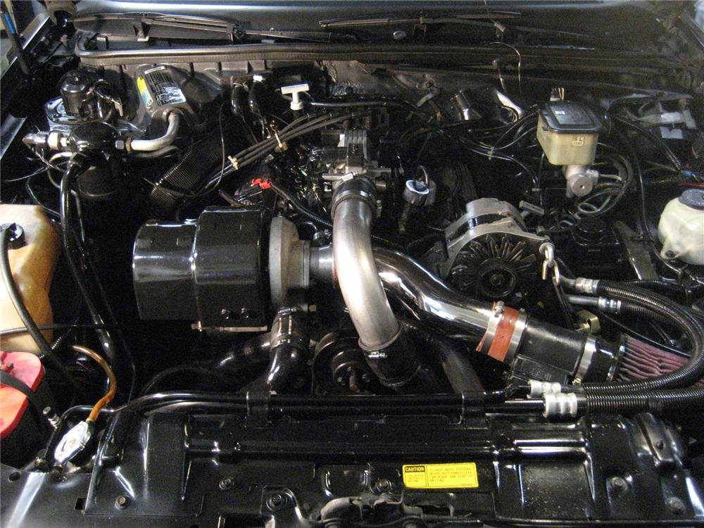 1987 BUICK WE4 REGAL COUPE - Engine - 71645