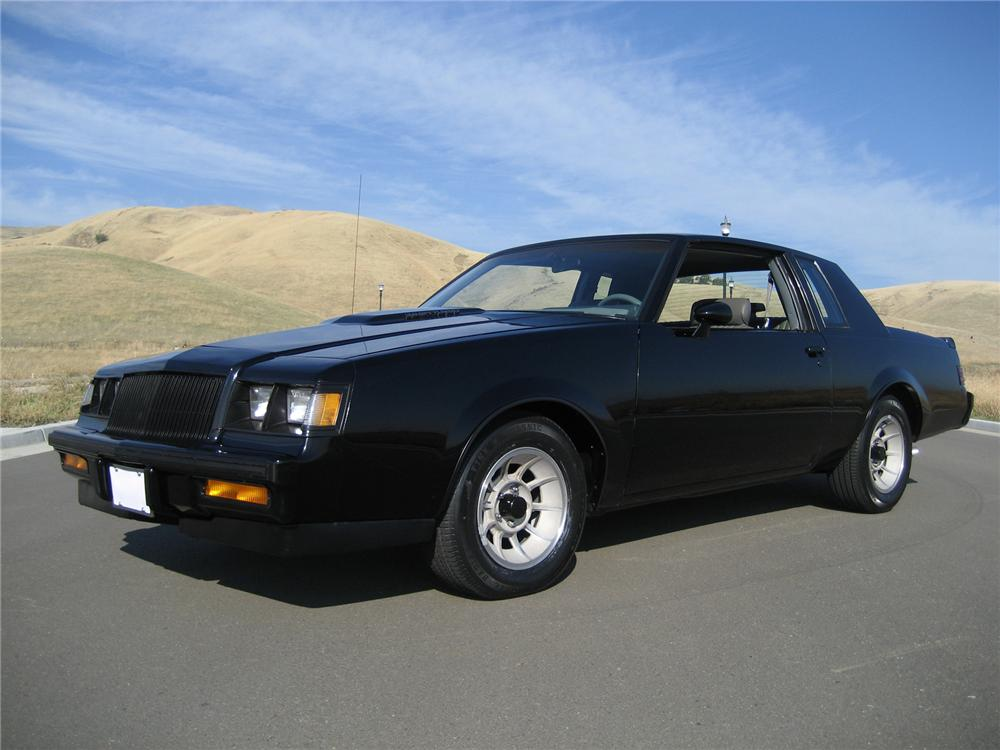 1987 BUICK WE4 REGAL COUPE - Front 3/4 - 71645
