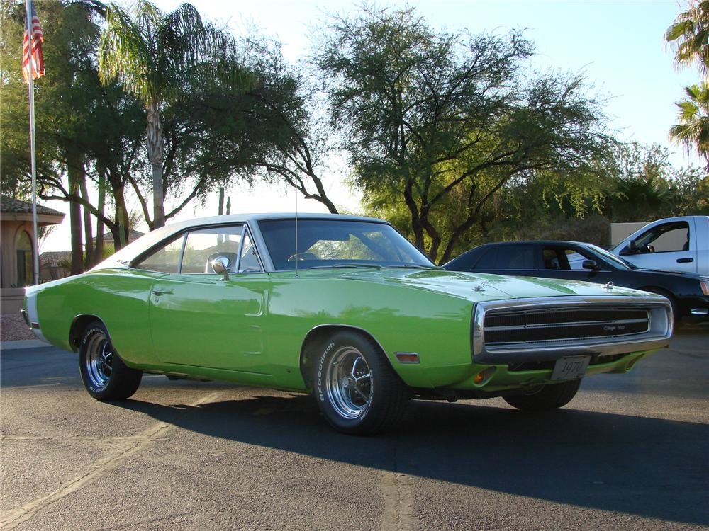 1970 DODGE CHARGER 2 DOOR COUPE - Front 3/4 - 71648