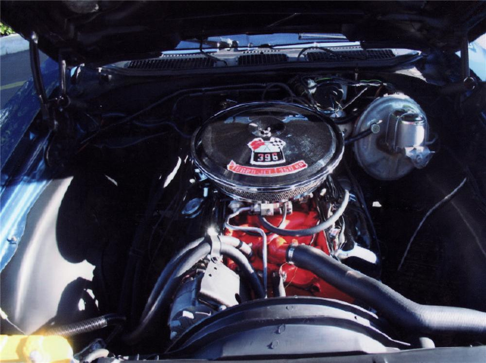 1970 CHEVROLET CHEVELLE SS 396 SPORT COUPE - Engine - 71655