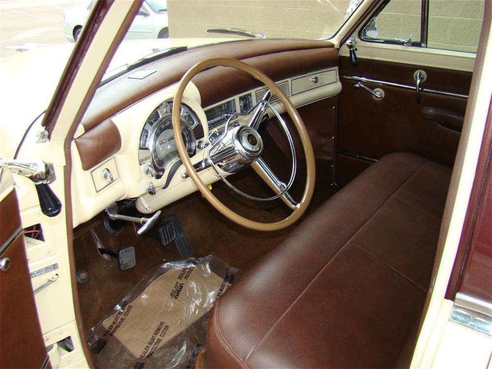 1953 CHRYSLER TOWN & COUNTRY STATION WAGON - Interior - 71656