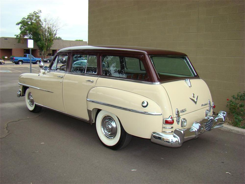 1953 CHRYSLER TOWN & COUNTRY STATION WAGON - Rear 3/4 - 71656