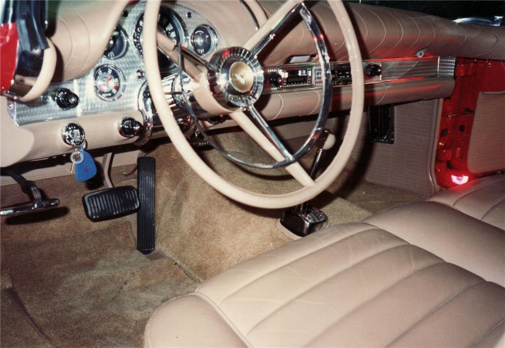 1957 FORD THUNDERBIRD E CONVERTIBLE - Interior - 71665
