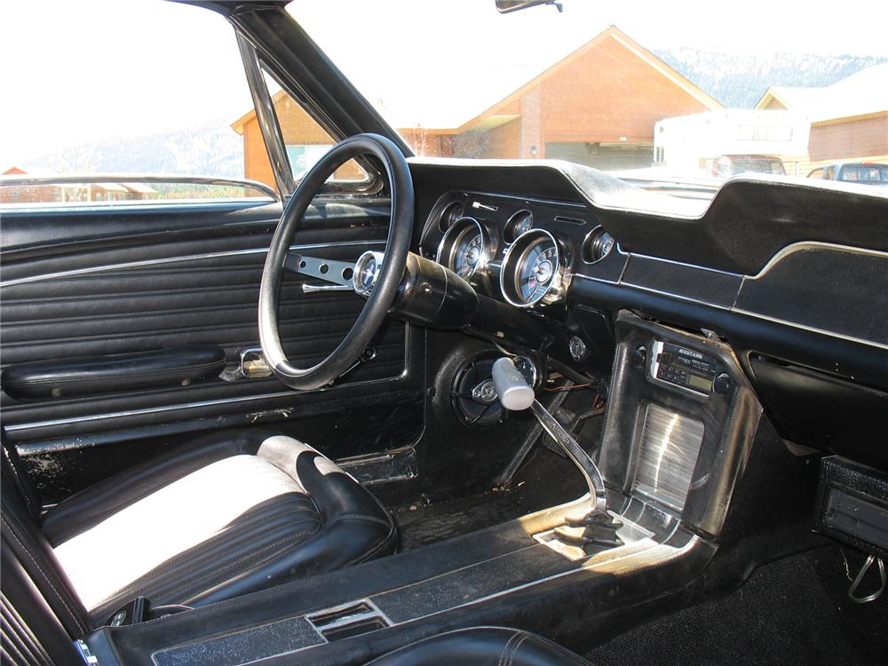 1968 Ford Mustang Gt Fastback 71667
