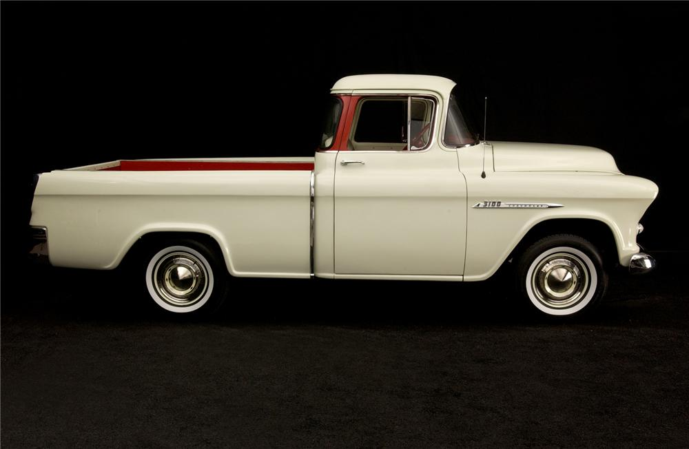 1955 CHEVROLET CAMEO PICKUP - Side Profile - 71671