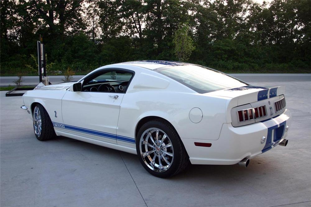 2008 FORD SHELBY GT500 CUSTOM COUPE - Rear 3/4 - 71675