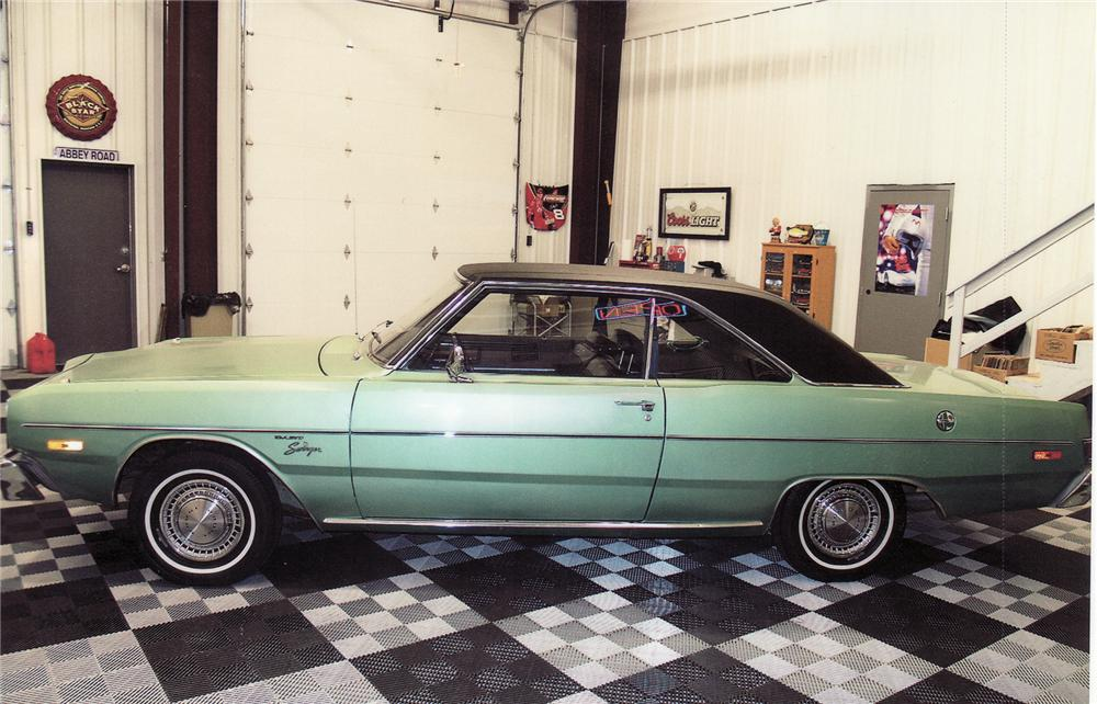 1974 DODGE DART SWINGER 2 DOOR HARDTOP - Side Profile - 71677