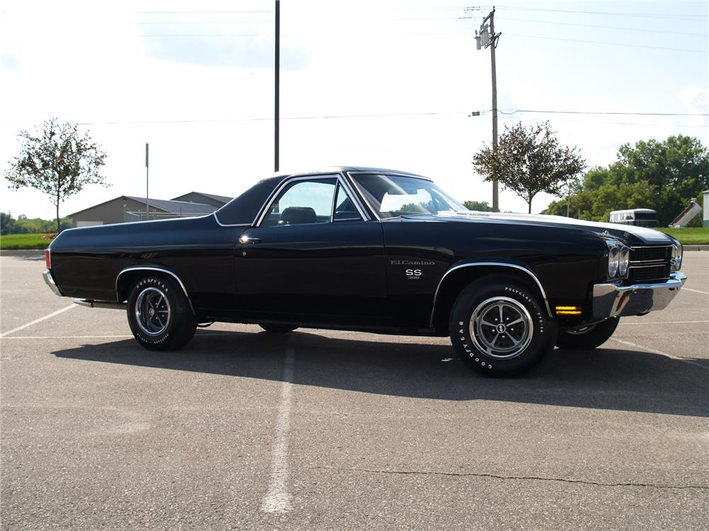 1970 CHEVROLET EL CAMINO PICKUP - Side Profile - 71683