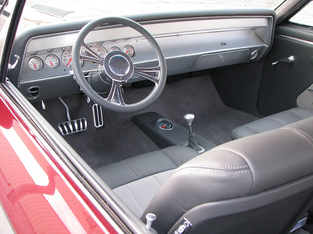 1967 CHEVROLET CHEVELLE SS PRO-TOURING COUPE - Interior - 71685