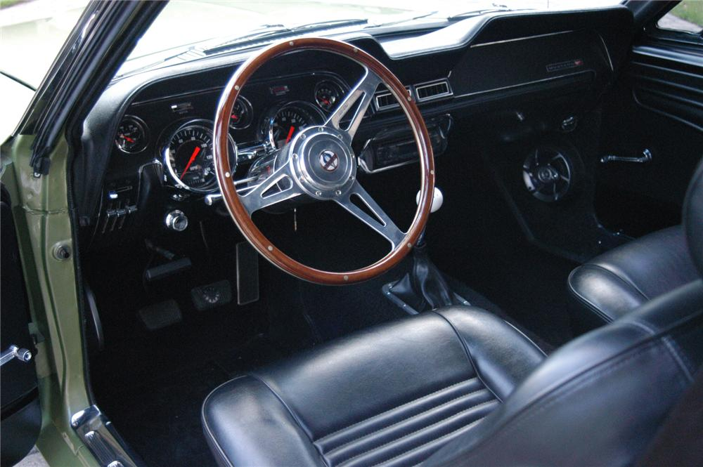 1967 FORD MUSTANG CUSTOM FASTBACK - Interior - 71689