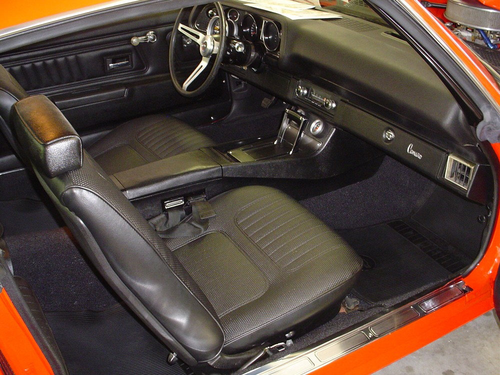 1970 CHEVROLET CAMARO RALLY SPORT MOTION RE-CREATION - Interior - 71690