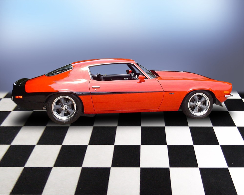 1970 CHEVROLET CAMARO RALLY SPORT MOTION RE-CREATION - Side Profile - 71690