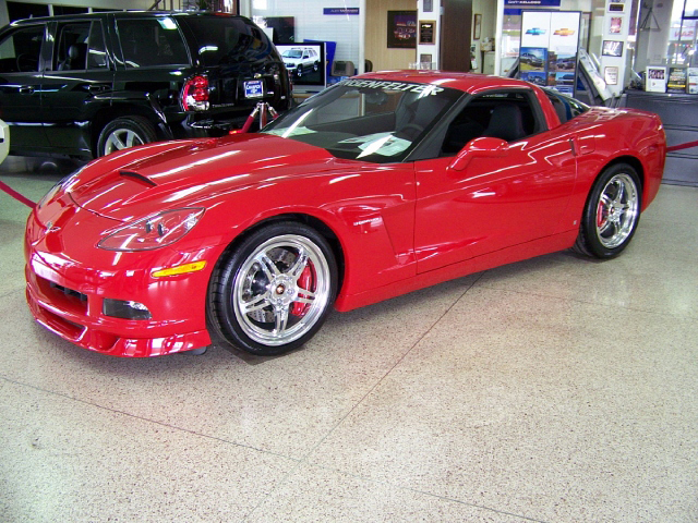 2008 CHEVROLET CORVETTE CUSTOM COUPE - Front 3/4 - 71691