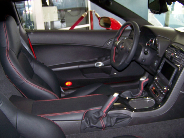 2008 CHEVROLET CORVETTE CUSTOM COUPE - Interior - 71691