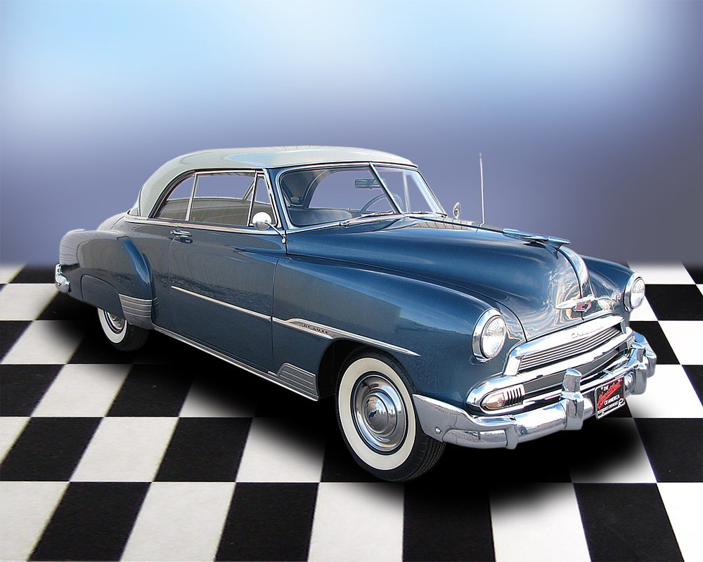 1951 CHEVROLET DELUXE BEL AIR 2 DOOR HARDTOP - Front 3/4 - 71696