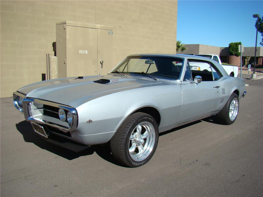 1967 PONTIAC FIREBIRD CUSTOM COUPE - Front 3/4 - 71697
