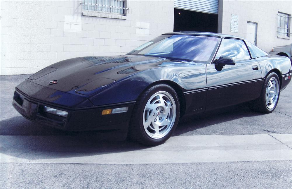 1990 CHEVROLET CORVETTE ZR-1 COUPE - Front 3/4 - 71707