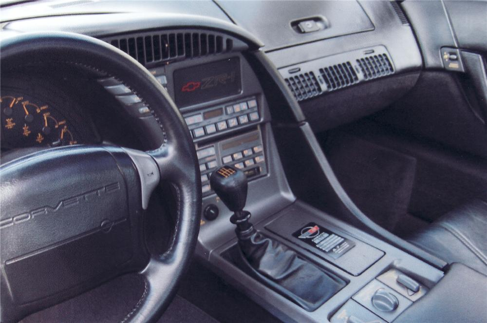 1990 CHEVROLET CORVETTE ZR-1 COUPE - Interior - 71707
