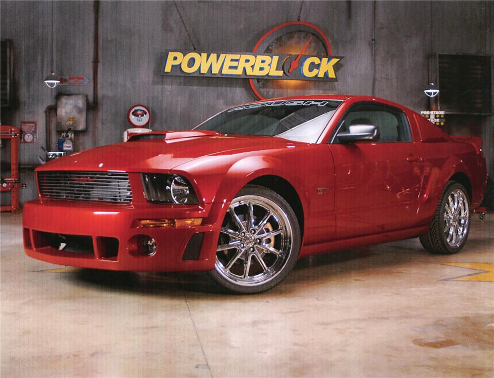 2008 FORD MUSTANG GT CUSTOM COUPE - Front 3/4 - 71709