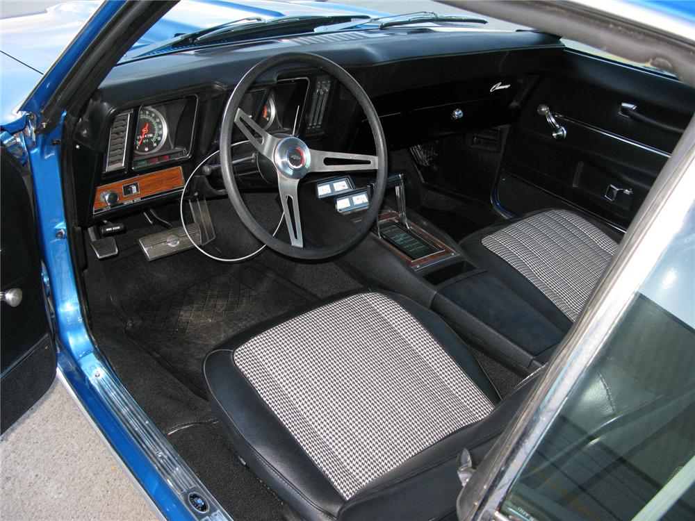 1969 CHEVROLET CAMARO ZL-1 RE-CREATION - Interior - 71715