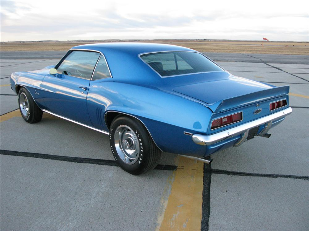 1969 CHEVROLET CAMARO ZL-1 RE-CREATION - Rear 3/4 - 71715