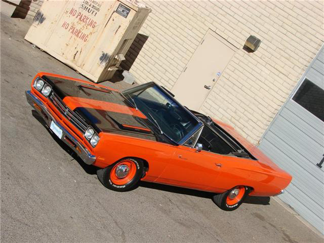 1969 PLYMOUTH ROAD RUNNER CONVERTIBLE - Interior - 71718