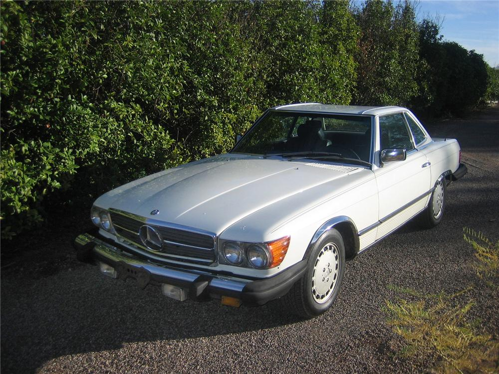 1984 mercedes benz 380sl convertible 71723