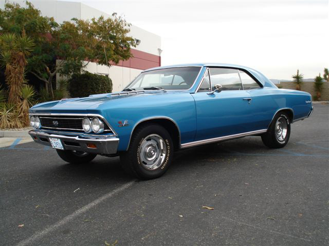 1966 CHEVROLET CHEVELLE SS 396 COUPE - Front 3/4 - 71734