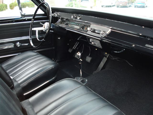 1966 CHEVROLET CHEVELLE SS 396 COUPE - Interior - 71734