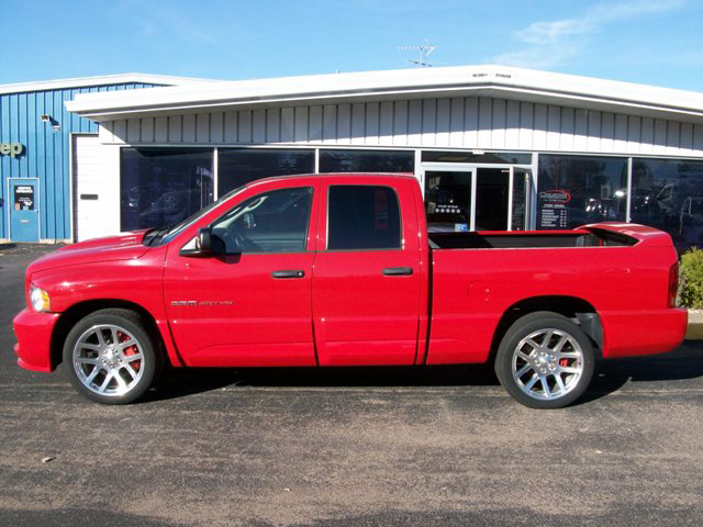 2005 DODGE RAM SRT-10 PICKUP - Side Profile - 71735