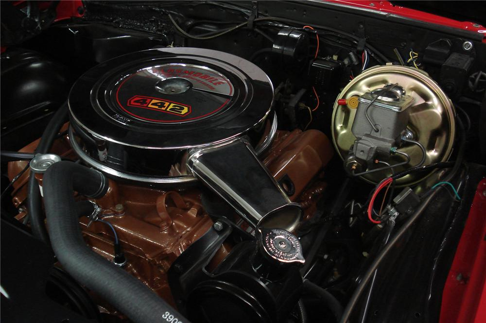 1967 OLDSMOBILE 442 SPORT COUPE - Engine - 71741