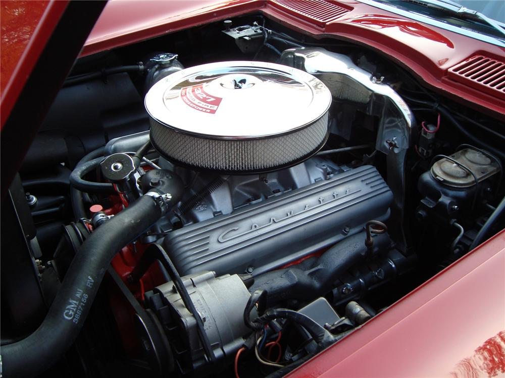 1967 CHEVROLET CORVETTE CONVERTIBLE - Engine - 71744